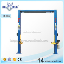 Cheap 2 post tilting car lift for promotion, good quality!