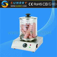 Electric hot dog machine with square base hot dog bun warmer machine (SUNRRY SY-HD200A)