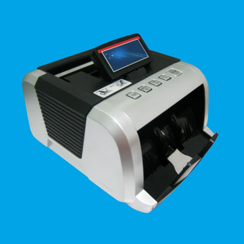 High Counting Speed MG & UV Conterfeit Detection Money Counter Machine