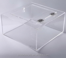 Acrylic Cookie Box Large Storage Box Transparent Acrylic Box