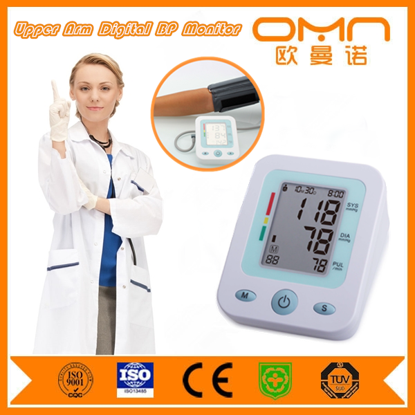 Superior quality made in china blood pressure monitor manufacturers,fully automatic blood presure with cuff parts