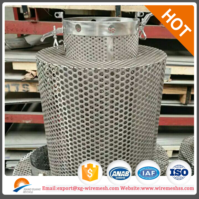 aluminum round hole perforated sheet