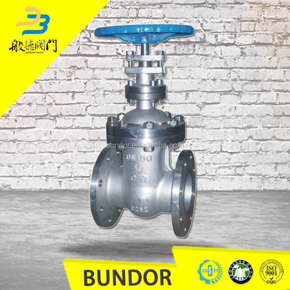 Stainless Steel Pn16 Water Oil and Gas 4 Inch Gate Valve