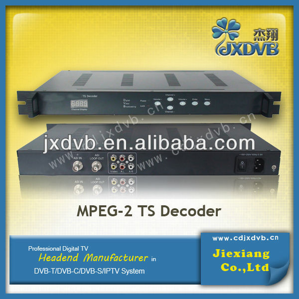 catv headend device TS Streaming decoder