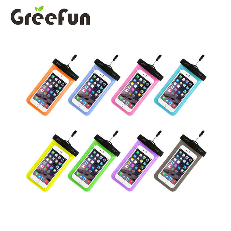 Custom Printed Logo Universal Water Proof phone CasePVC Mobile Phone Cases Waterproof Bag/Pouch