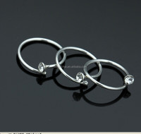 20pcs/box 925 Sterling silver eyebrow rings