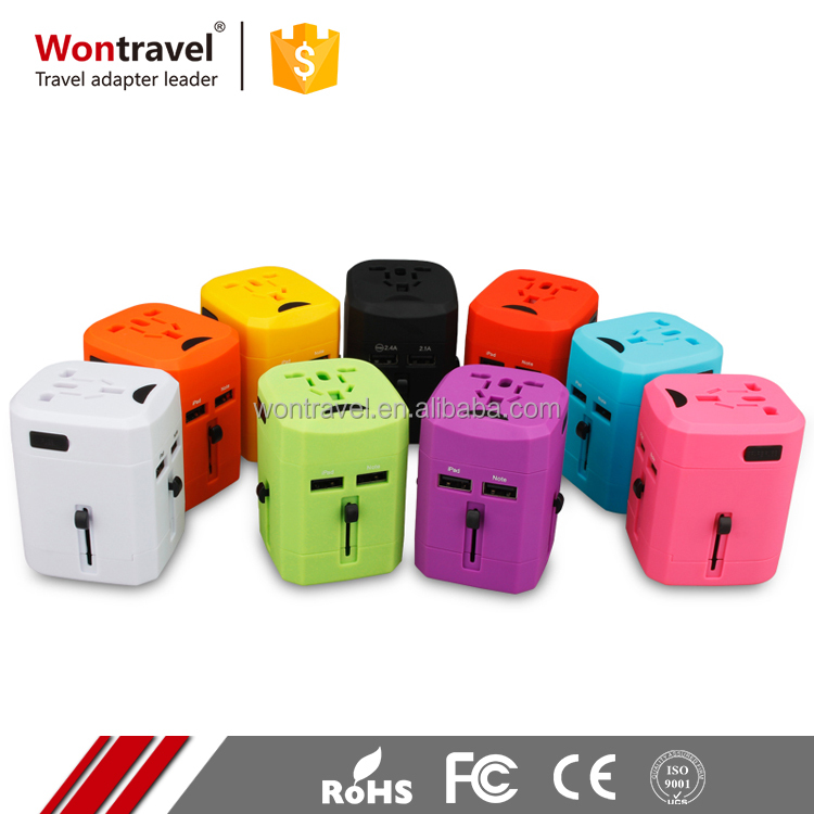 International,australia,usa,uk,european electrical all in one world power plug adapter with usb best travel adaptor