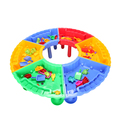 Plastic colorful sand and water table,kids outdoor toy