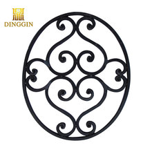 new design wrought iron ornaments for indoor handrail fittings