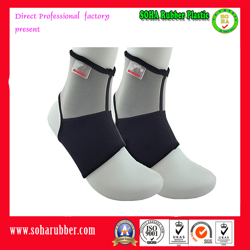 ankle sleeve basketball support with velcro strap