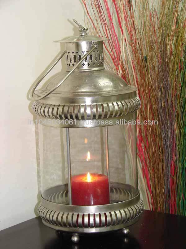 Glass Home Decorative Candle Lighting Lamp