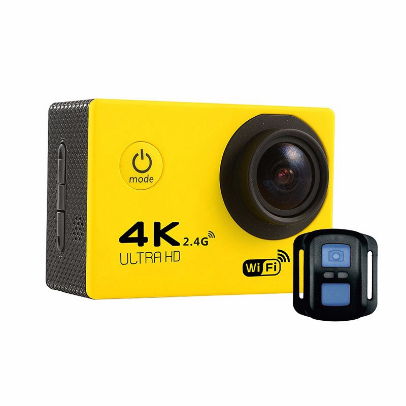 2017 New Cheap action camera 4k F60R Allwinner V3+IMAX 179 4K 30fps 1080p 60fps 4K F60 action camera be unique