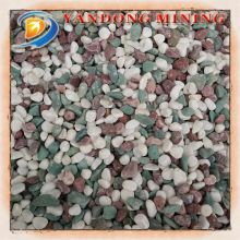 garden colored pebbles/for garden landscaping small pebble stone