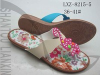 HIGH QUALITY LADIES PVC SLIPPERS WOMEN RUBBER BEADING SLIPPERS AND SANDALS