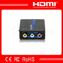 With usb power cable digital hdmi female to analog rca male TV video converter