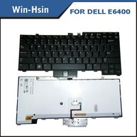 Replacement keyboard laptop for Dell Latitude E6400 Keyboard backlit