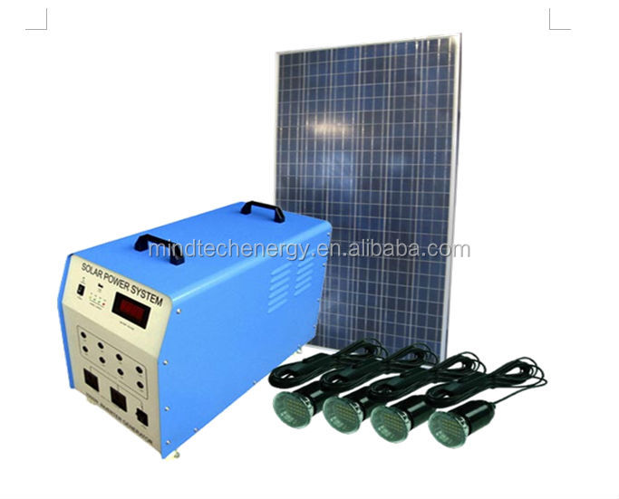 Save Energy Compact Solar Power System