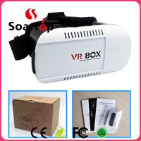 2016 New products portable 2nd generation 3D VR BOX Virtual Reality 3D Glasses for blue film video open sex