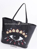 2014 Fashion Designer Hot Sale Indian Style Eye Printing Handbag Tote Bag In Stock Wholesale For Ladies Women Girl
