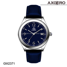 2015 Axgero new design own brand watch for men q&q quartz water resist 3 bar