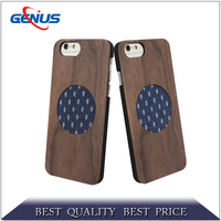 Fashion shell mobile phone case natural wood phone case for iphone 4 4s 5 5s