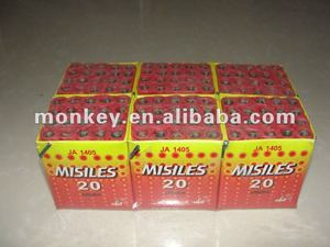 25 shots ground mouse saturn fireworks missile