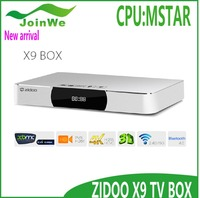 New product of 2015 Zidoo X9 Quad Core MSTAR 9180 HD[IN/OUT] Record PVR 4K USB 3.0 KODI Android STB