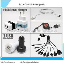 Charger Kit for iPad and Samsung P1000