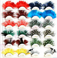 women wholesale party crazy false eyelashes,rhinestone false eyelashes