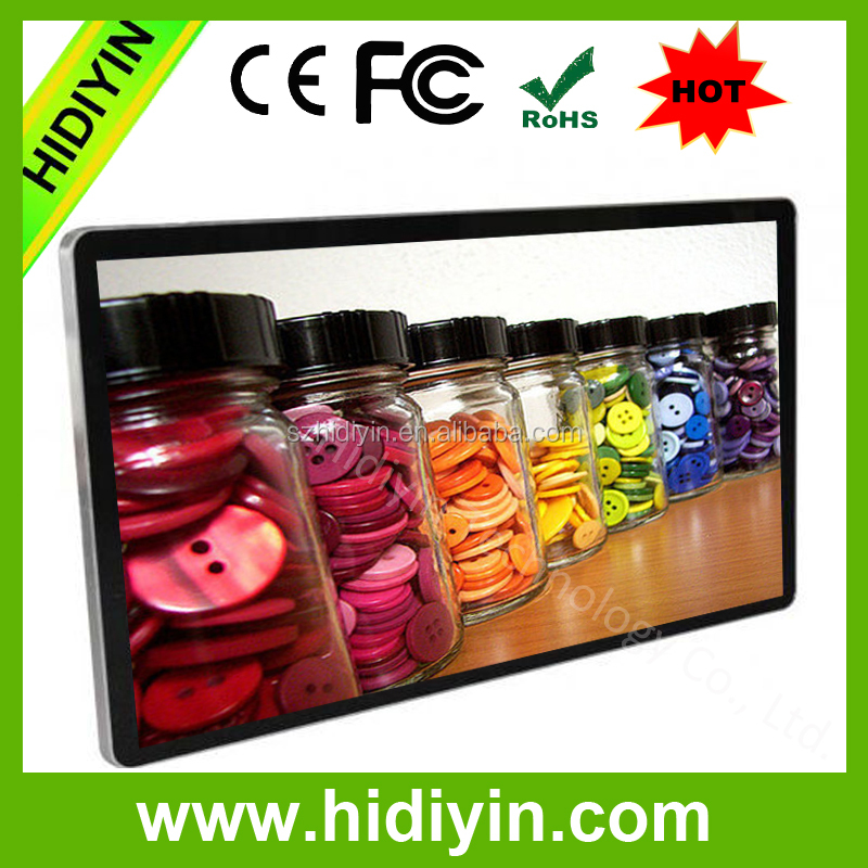 new hot sale led advertising display screen 65 inch led tv