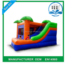 Commercial inflatable bouncer house, inflatable mini combo jumper, inflatable bouncer combo