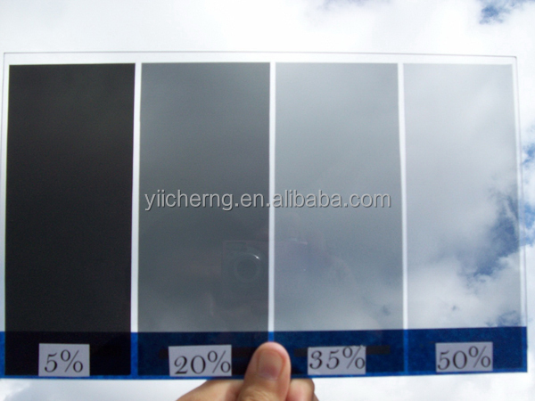 Heat insulation window film car solar film from 5% to 70% light tansmittance
