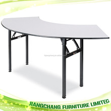 Foldable Half Moon Banquet Table For Party