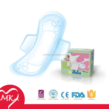 Whisper ultra pads for night use lady anion feminine sanitary pads panty liners with wings manufacturing