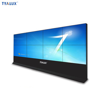 Hot sell 1920x1080p 55 inch 3.8mm lcd video wall display processor