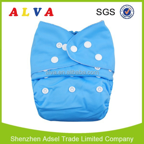 Alva Reusable One Size Fits All baby kids garments Baby Cloth Diapers