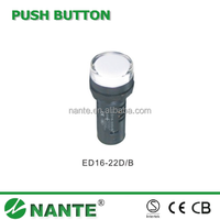 Push Button Switch ED16 Series Signal Lamp, Pilot Light, Indicator ED16-22D/B Double Color Light