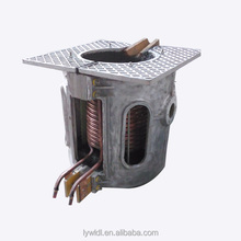 1T medium frequency induction copper melting furnace for sale