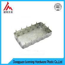 Custom professional metal stamping part with shrapnel Shielding Cover shield case