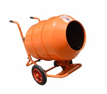 High performance portable mini concrete mixer with pump