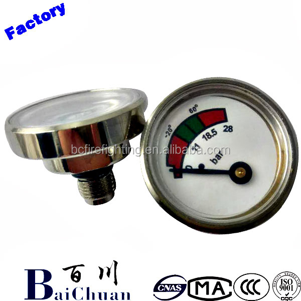 fire extinguisher pressure gauge bourdon, fire extinguisher pressure gauge assembly