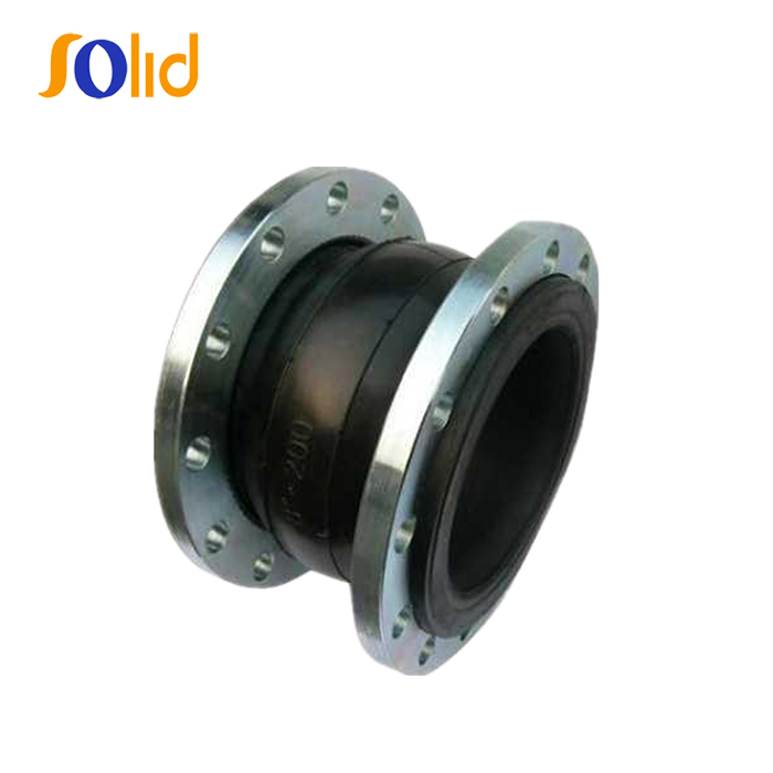 Single Ball Flanged End Rubber Expansion Joints