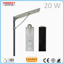 Alibaba shenzhen supplier 15w 20w 25w solar car park lighting garden lights pole light