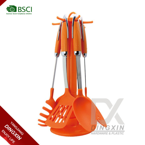 Non-toxic colorful nylon utensils kitchen king products
