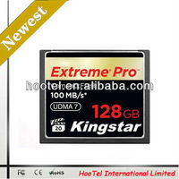 128mb cf card 667X 100MB/S kingstar brand lowest price