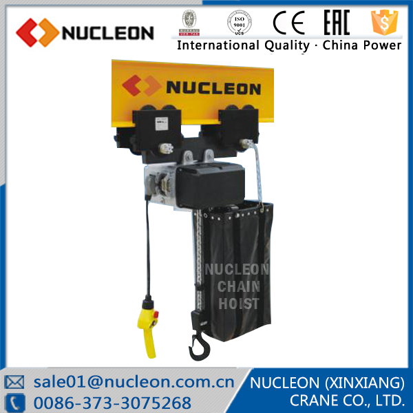 Nucleon Crane good quality and cheap price electric chain hoist