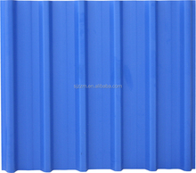 2014 new design blue color coated house building roof tiles from factory