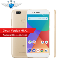 Global version Xiaomi mi A1 A 1 android one 4GB RAM 32GB ROM Google play 4g mobile phones
