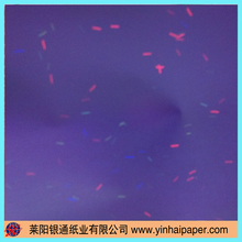 A4 size Security UV Fiber Paper for Finacial Use