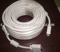 VGA high quality cable with ferrites